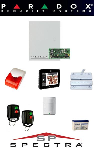 Sistem de alarma IQ cablat pentru apartament Paradox SA-14-CIQ
