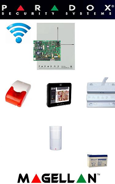 Sistem de alarma IQ wireless pentru apartament Paradox
