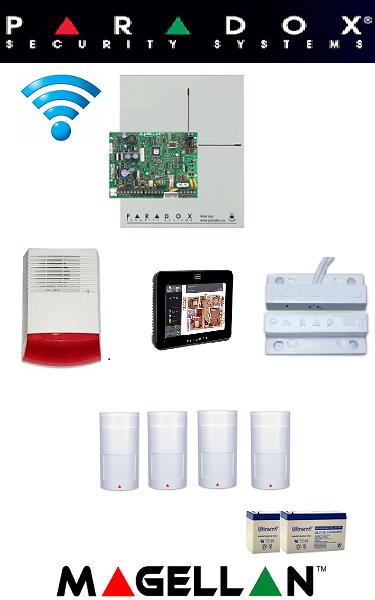 Sistem de alarma IQ  wireless pentru casa Paradox