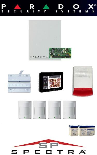 Sistem de alarma IQ cablat pentru casa Paradox SA-30-CIQ