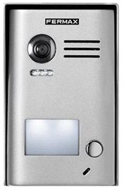 Kit videointerfon Fermax cu un post și două monitoare pentru o familie VI-203-I2F1