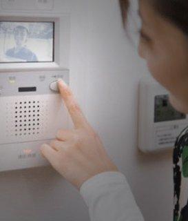 Instalarea inclusă la sistemele de videointerfonie
