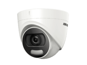 Sistem video interior ColorVU cu camere dome interior și bullet exterior, color noaptea FULL HD HIKVISION SV-300-IE16