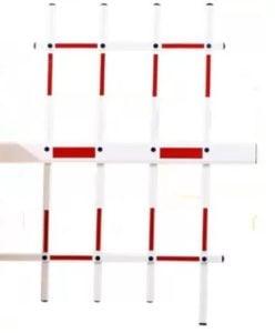 Barieră de acces, brat 4 metrii tip gard, senzori IR, telecomanda BAR-4-GD-IR