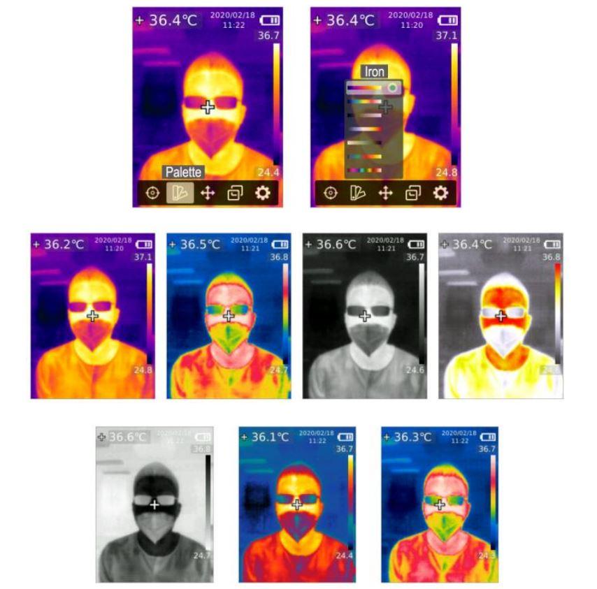 Scanner video cu termoviziune portabil, înregistrare 6 ore, acuratețe 0.5c KMW KM-T28-T