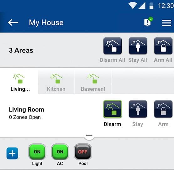 Sistem de alarmă Wireless cu senzor de mișcare wireless și modul IP Paradox OF-P2-IP-W