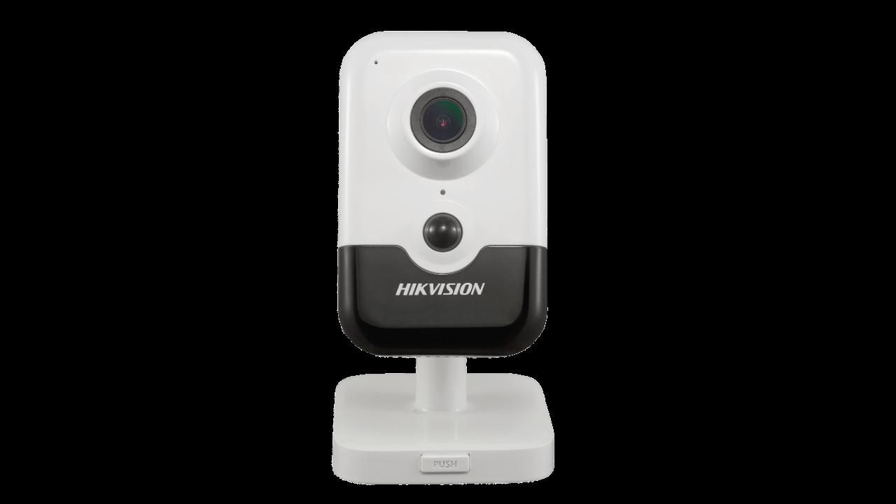 Cameră IP Standalone, 4MP, interior, funcționează direct, alarmă, fără fir wireless, aplicație mobilă, infraroșu 10 metri, microfon Hikvision HV-ST-01
